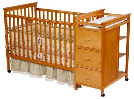 Ellis Crib N Changer Combo by Archived Simplicity Brand Drop Side Cribs