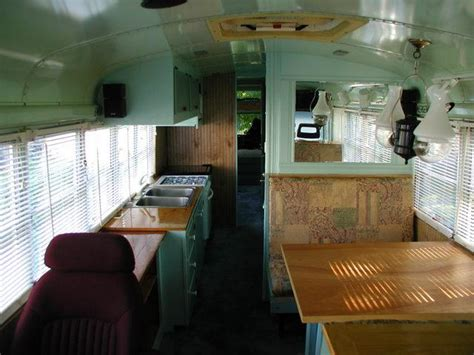School Conversion Interior by School To Rv Conversion From An Yellow