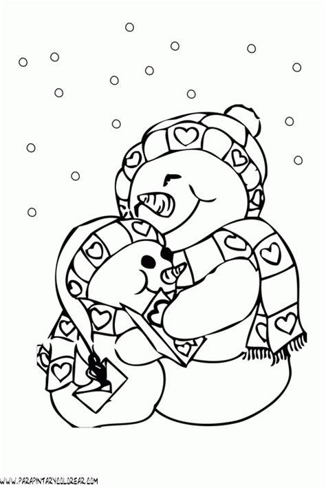 imagenes para colorear vacaciones de invierno dibujos del invierno para pintar imagui