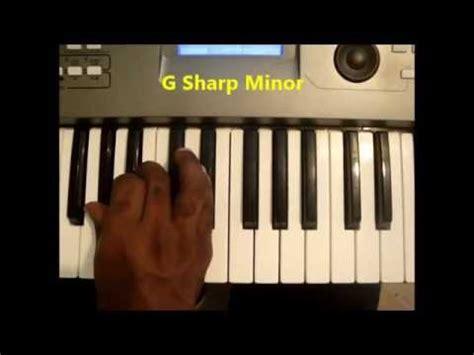 How To Play G Sharp Minor Chord (G#m, G# min) On Piano And ... G Sharp Minor Chord Piano