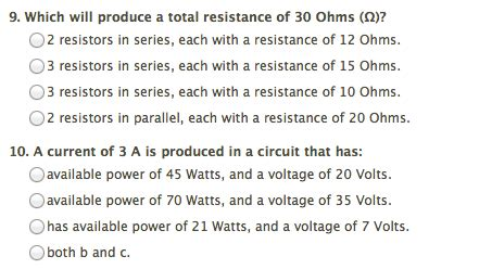 terminating resistors typically a resistance of ohms each which will produce a total resistance of 30 ohms chegg