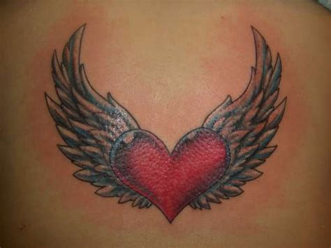 heart with wings tattoos 180 best images about wings tattoos on