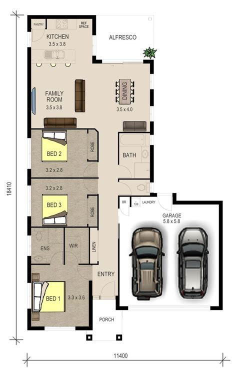 single storey floor plan 71 best images about plan single storey on pinterest