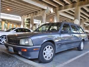 Peugeot 505 Wagon Seattle S Parked Cars 1989 Peugeot 505 Turbo Wagon