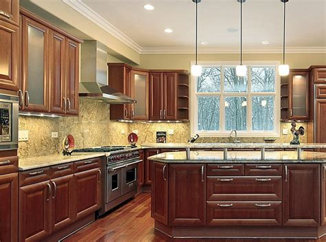 full granite backsplash   Kitchens   Pinterest   Granite