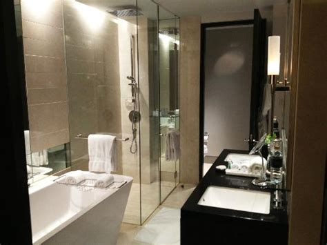 st regis bathroom bathroom with the sliding doors opened up picture of the