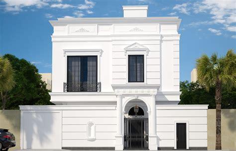 neoclassical saudi arabian house design riyadh saudi