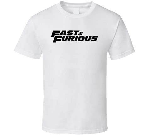Tshirt The Fast And The Furious fast and the furious t shirt