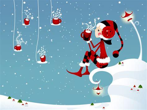 wallpaper christmas love i love kawaii desktop wallpaper of cute christmas girl