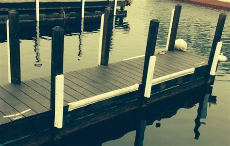 how to install boat dock bumpers great dock setup up with dock bumpers placed in all the