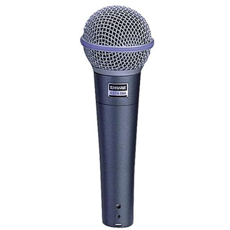 Mic Microphone Kabel Shure Beta 68 Vocal Artis Legendary shure beta 58a supercardioid dynamic vocal microphone reverb