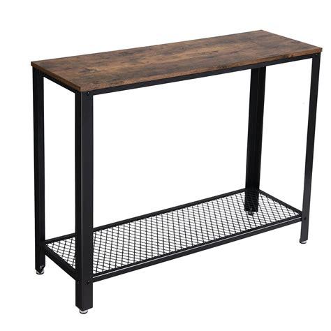 tavolo da divano songmics tavolo da consolle vintage tavolo da ingresso