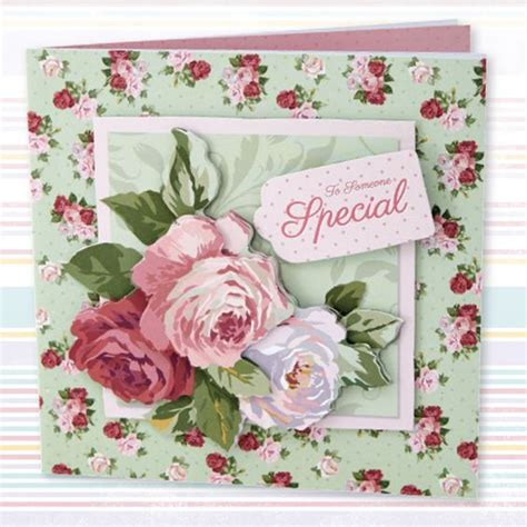 Decoupage Cards - docrafts papermania decoupage card set simply