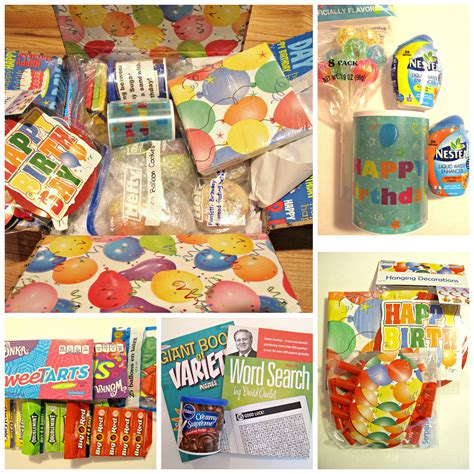 funfetti birthday sugar cookies  military care package   monday box