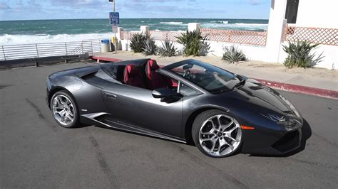 convertible lamborghini red lamborghini hurac 225 n spyder convertible in action youtube