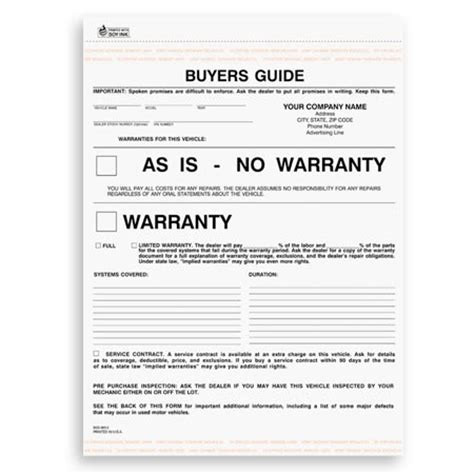 as is warranty form buyers guide as is no warranty forms elhouz
