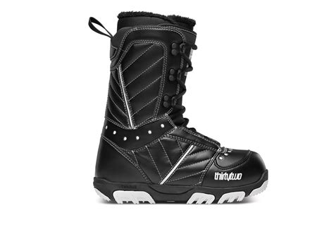 most comfortable womens snowboard boots leftlane sports thirtytwo prion snowboard boots 2014