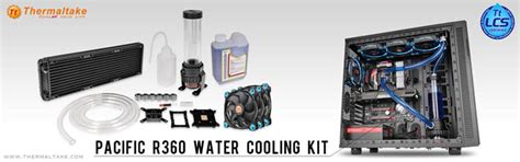 Thermaltake Pasific R360 Watercooling thermaltake launches pacific r360 d5 water cooling kit