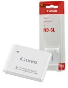 Sdv Battery For Canon Nb 6l canon nb 6l lithium ion battery for canon powershot