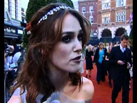 james mcavoy keira knightley interview keira knightley interview at atonement premiere youtube