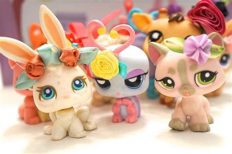 littlest pet shop grab bag lps bows handmade