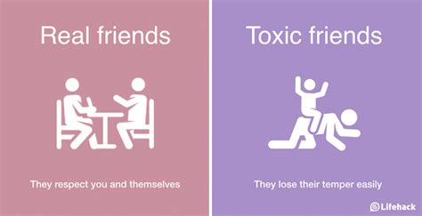 8 Ways To Identify Toxic by 8 Ways To Tell The Difference Between Real Friends And