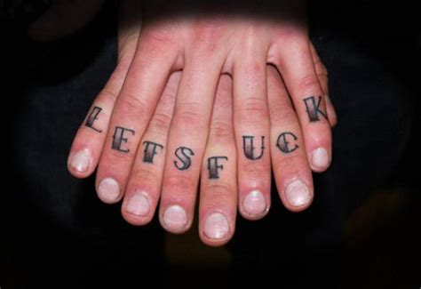 knuckle up tattoo well now that s pretty clever and lewd inkedmagazine
