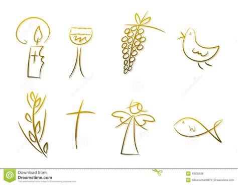 imagenes simbolos biblicos s 237 mbolos cristianos fotos de archivo libres de regal 237 as