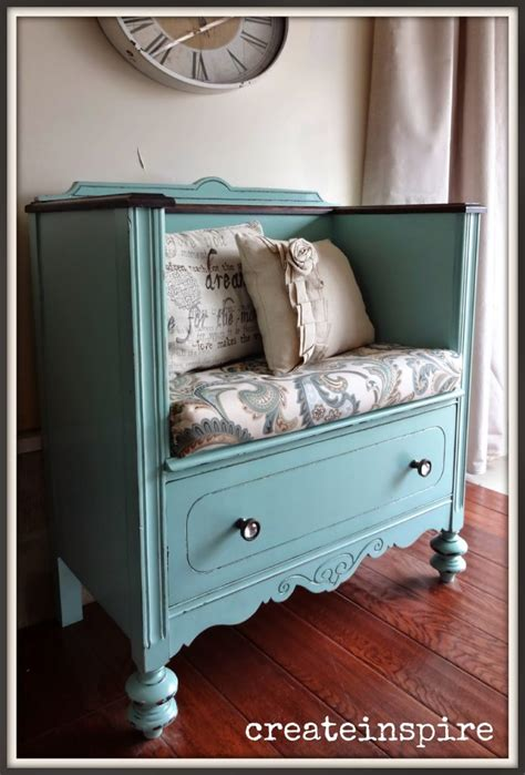 Dresser Turned Bench by 10 Diy Upcycled Crafts The Craftiest
