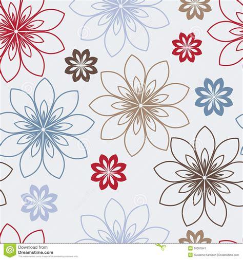 immagini fiori stilizzati fiori e marroni stilizzati illustrazione