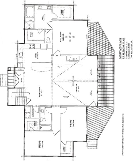 log mansions floor plans one story log home plans house design
