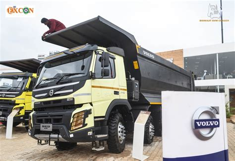 2015 volvo truck volvo trucks india at excon 2015 bengaluru svmchaser