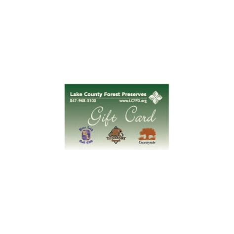 Golf Gift Card - golf gift card lake county forest preserves