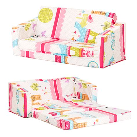 kids flip sofa bed lily kids flip out sofa sleep over fold chair z bed