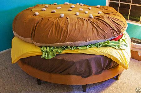hamburger bed for sale you will be mine oh yes you will be mine cheeseburger