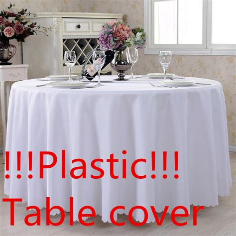 Plastic L Covers 1 plastic l alysse tablecloth table cover oilproof
