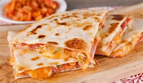 Kitchen Island Calgary by Sweet And Spicy Ham Quesadilla In The Kitchen With