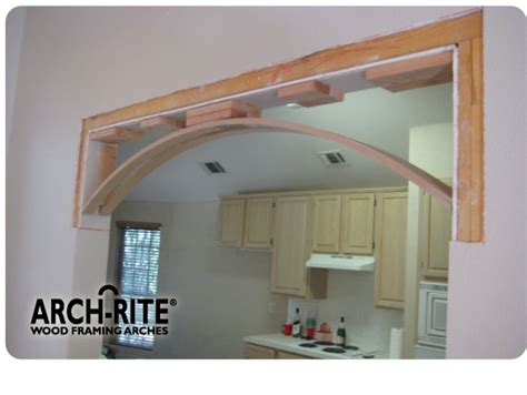 arch home kits low cost arch kits that transformed my kitchen doorways