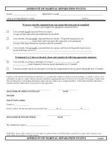 separation papers template top 5 free formats of separation agreement templates