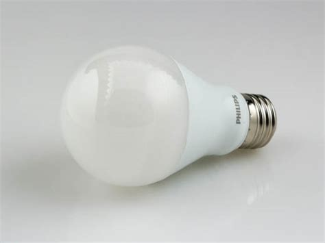 Lu Led Philips 19 Watt philips 60 watt equiv 9 5 watt 120 volt dimmable 2200k 2700k warm white 25 000 hr led a 19