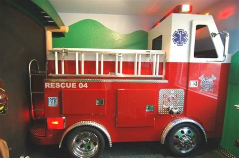 garbage truck bed firetruck bed eclectic kids sacramento