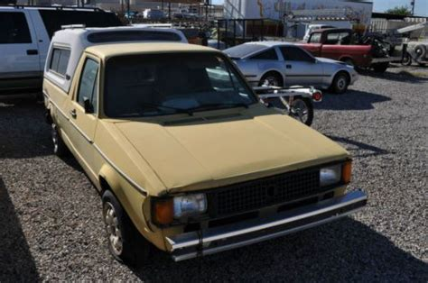 volkswagen rabbit 1990 sell used volkswagen rabbit truck same owner since