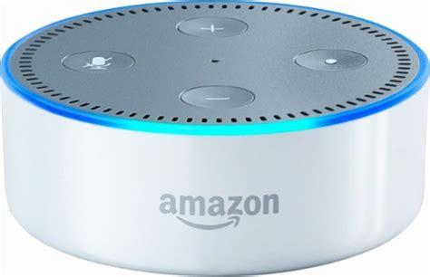 amazon dot amazon echo dot 2nd generation smart speaker with