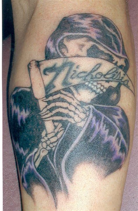 grand reaper tattoos images by tracy