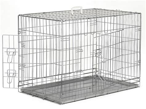 steel crate silver cage crate kennel pet puppy pen stainless steel color metal tray pan ebay