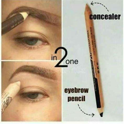 Pencil Mn 2 In 1 Eyeliner Eyebrow Concealer Pencil Terjamin 2 in 1 professional crayon concealer end 5 10 2017 7 15 pm