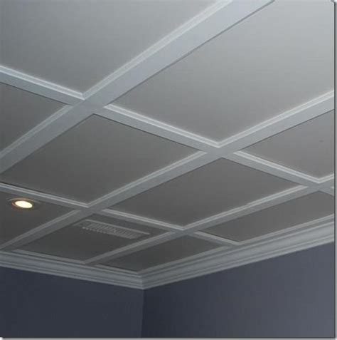 Ceiling Panel Options by Drop Ceiling Basement On Drop Ceiling Tiles
