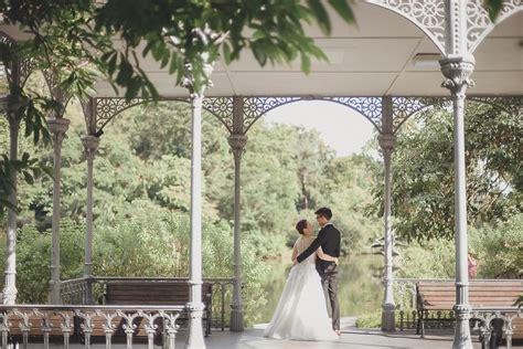 botanic garden wedding photoshoot eugene audrie