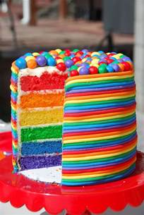 colorful cake rainbow cake the whoot