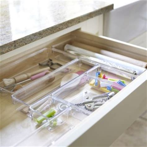 Kitchen Shelf Organisers Uk Linus Drawer Organisers In Drawer Organisers At Lakeland